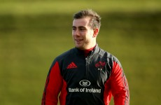 JJ Hanrahan starts – Here's the Munster team to face Clermont