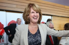 The dole queue has shrunk to a post-recession low… And Joan Burton's happy