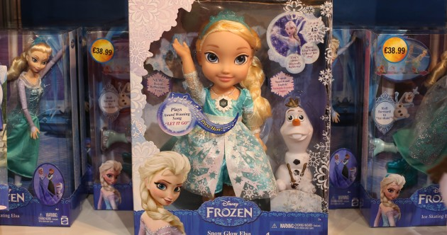 Caught cold: 20,000 fake Frozen dolls seized in Dublin