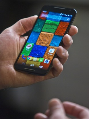 The Moto X is one example of a new smartphone you can buy unlocked.