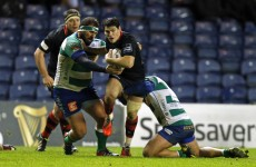 There was a huge fight during Edinburgh and Treviso last night