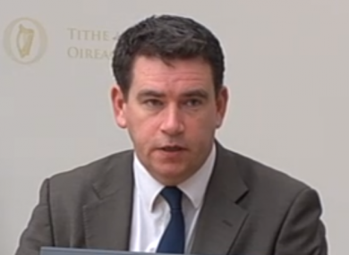 John Deasy at the Public Accounts Committee this morning