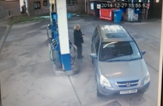 This driver's epic facepalm moment at the petrol station was caught on CCTV