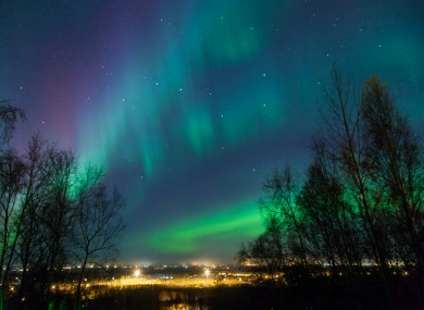 The Aurora Borealis. Let's all keep an eye out for it, shall we?