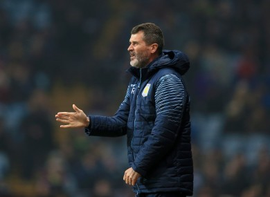 Roy Keane spent just 151 days in charge as Aston Villa assistant boss.
