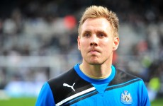 Rob Elliot could miss Newcastle's clash with Burnley tonight because his wife is expecting