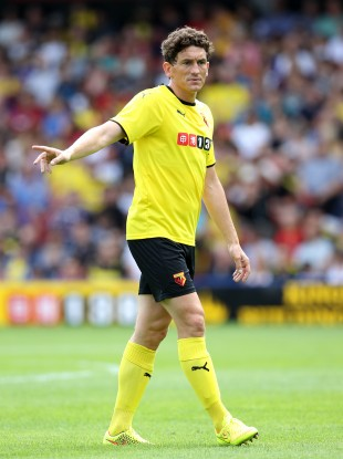 Andrews has played nine games for Watford this season.