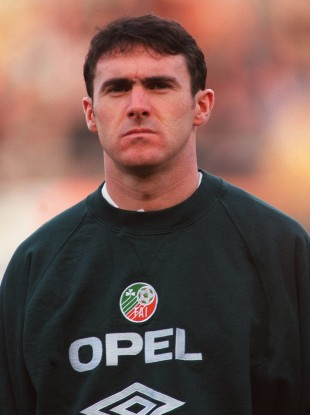 Alan McLoughlin played for Ireland 42 times over the course of his career.