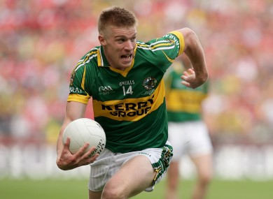 Tommy Walsh won an All-Ireland senior medal with Kerry in 2009.