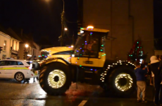 Massive Christmas tractors barrel through the streets of Carrick-On-Suir