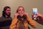 Girl inhales slice of turkey in record time