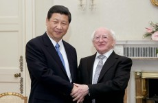 President Michael D Higgins is off to China today