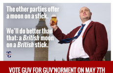 Al Murray, aka The Pub Landlord, is standing against Nigel Farage in the UK general election