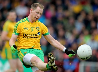 Anthony Thompson won an All-Ireland medal with Donegal in 2012.