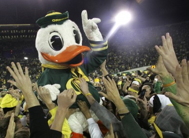Will Oregon be number one after tonight?