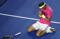 Rafael Nadal's opponent pulled a seriously classy move with their match on the line