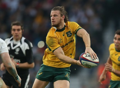 Horne has won 25 caps for Australia in the centre and on the wing.