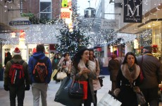 Irish people spent a LOT of money over the Christmas period