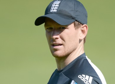 England one-day captain Eoin Morgan was the subject of a recent blackmail attempt.