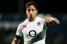 Danny Cipriani is part of England's 34-man training squad for the Six Nations