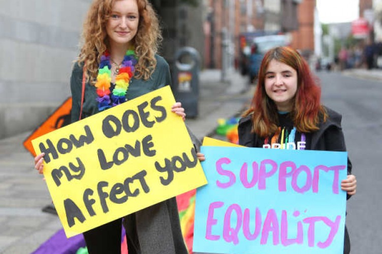 from Louie gay rights in ireland