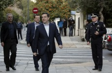 Tieless and taking a civil not religious oath, Alexis Tsipras sworn in as Greek Prime Minister