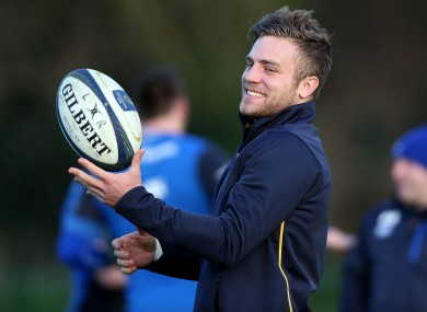 Ian Madigan is an option at 10 and 12 for Leinster this weekend.