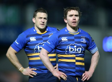 Jimmy Gopperth [left] will join Reddan's old club next season.