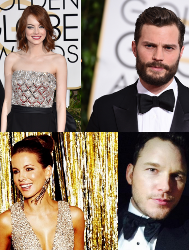 The 32 biggest rides from last night's Golden Globes