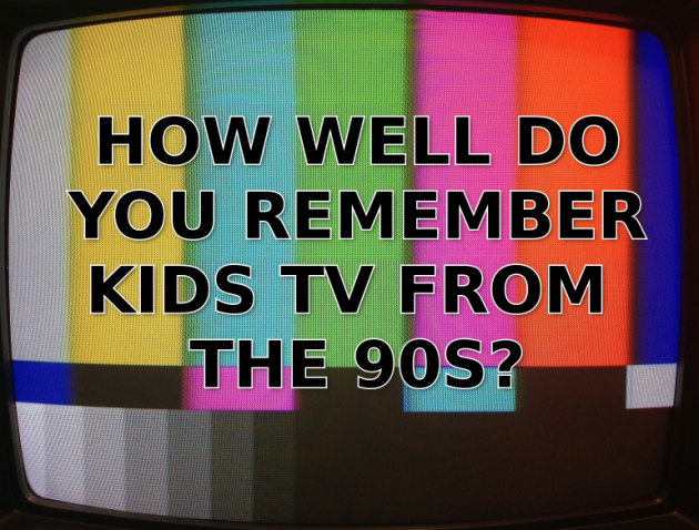 How Well Do You Remember Kids TV From the 90s?