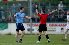 Michael Darragh MacAuley was sent-off today but any suspension won't kick in until 2016