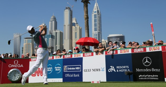 Rory McIlroy tore it up again today with another bogey-free round in Dubai