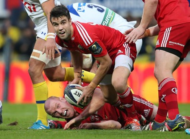Munster will be without Murray in London tomorrow afternoon.