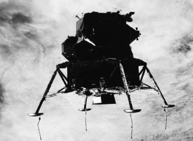 The Apollo 9 lunar module.