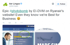 Airline banter alert: Aer Lingus and Ryanair are talking smack about each other on Twitter