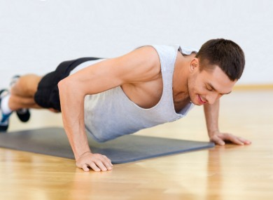 The clap push-up has to be done explosively to get the full benefit.