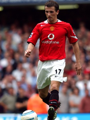 Liam Miller joined Manchester United from Celtic in 2004.