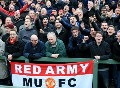 Manchester United season ticket holders are required to pay £50 for the Cambridge FA Cup clash.