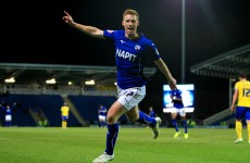 Could Irishman Eoin Doyle be playing alongside Frank Lampard next season?