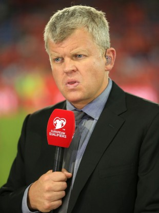 Adrian Chiles has been replaced as lead anchor on ITV's football broadcasts.