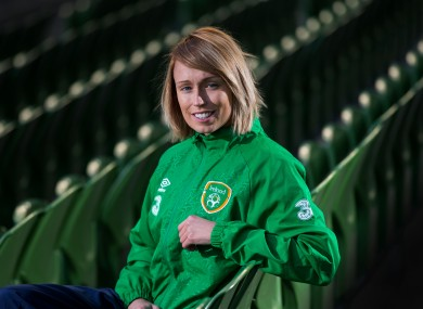 Stephanie Roche's big night takes place on 12 January.