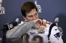 Tom Brady is sick… but don't worry, he looked okay in training last night