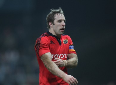 O'Leary will add international experience to Munster's squad next season.