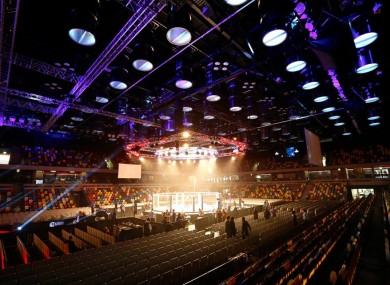 The Copper Box Arena in London's Olympic Park was due to host Cage Warriors 75 on Saturday, 21 March.