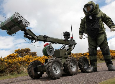 A member of the bomb disposal squad (File photo)