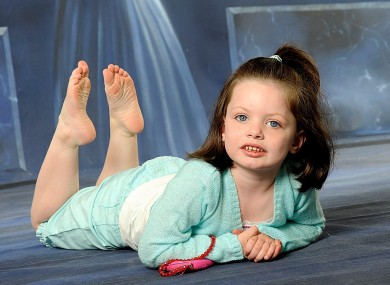 Saoirse Heffernan died when she was just 5 years old.