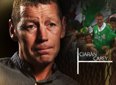 Ciarán Carey starred on the Limerick team that reached the 1994 and 1996 All-Ireland finals.
