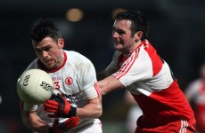 Derry denied first win as Tyrone snatch late draw in Ulster derby
