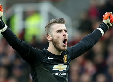 De Gea's future has been the subject of much speculation.