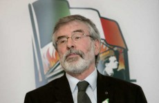 Gerry Adams has asked for 'no counter-demos' to the Love Ulster march
